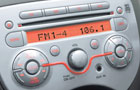 Nissan Micra Stereo Picture