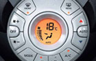 Nissan Micra Rear AC Control Picture