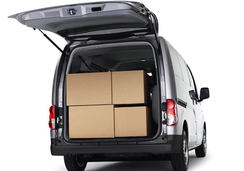 Nissan NV200 Boot Open Picture