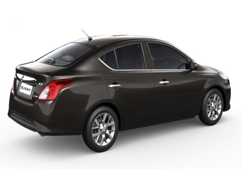 Nissan Sunny Rear Angle View Exterior Picture