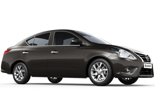 Nissan Sunny Front Side View Exterior Picture