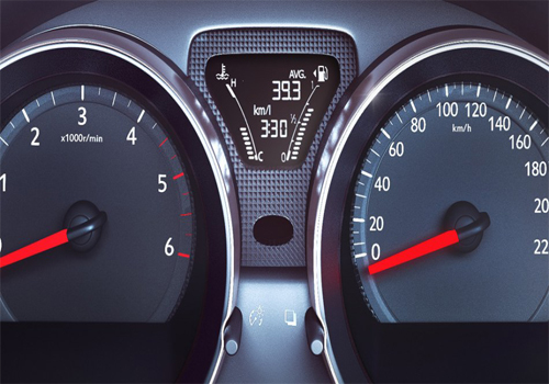 Nissan Sunny Tachometer Interior Picture
