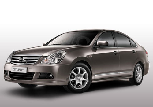 Nissan Sylphy Front Angle View Exterior Picture