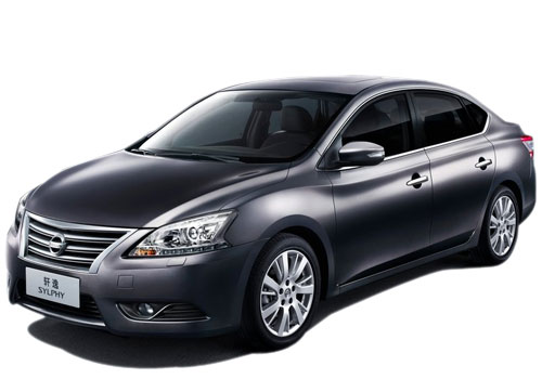 Nissan Sylphy Front High Angle View Exterior Picture