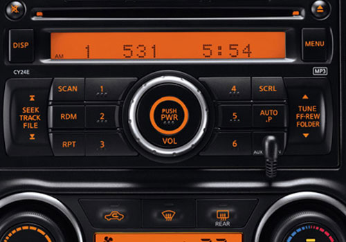 Nissan Sylphy Stereo Interior Picture