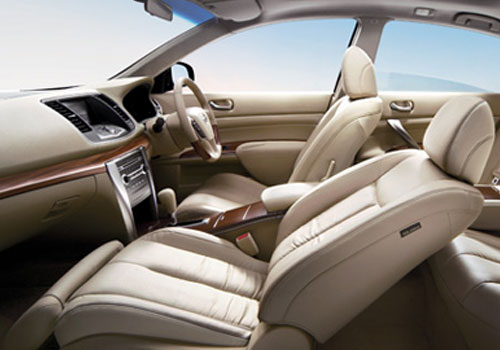 Nissan Teana Front Seats Interior Picture