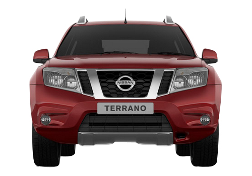 Nissan Terrano Front View Picture