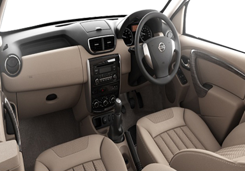 Nissan Terrano Front Seat View Picture