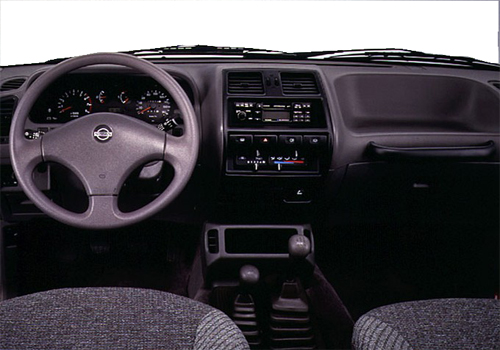 Nissan Terrano Top View Interior Picture