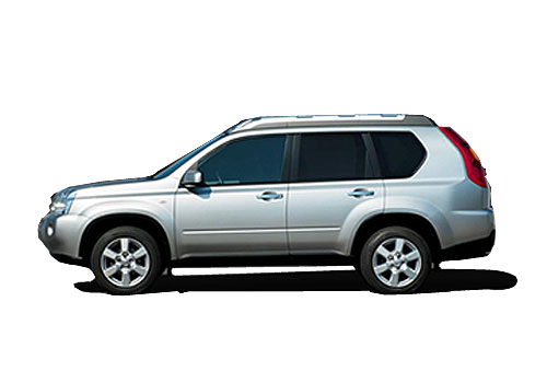 Nissan Xtrail Front Angle Side View Exterior Picture