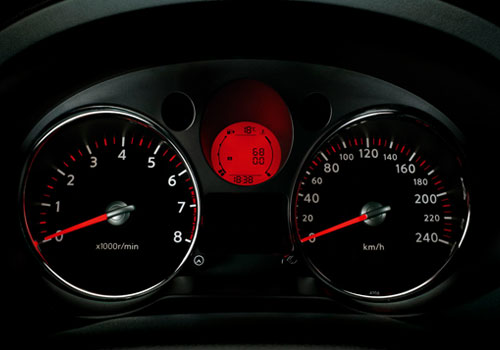 Nissan Xtrail Tachometer Interior Picture