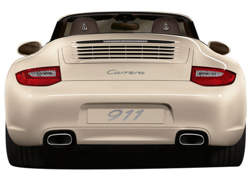 Porsche 911 Rear View Exterior Picture