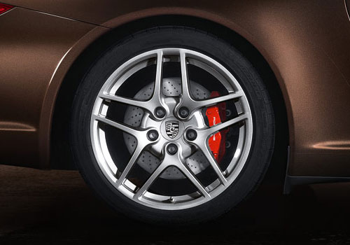 Porsche 911 Wheel and Tyre Exterior Picture
