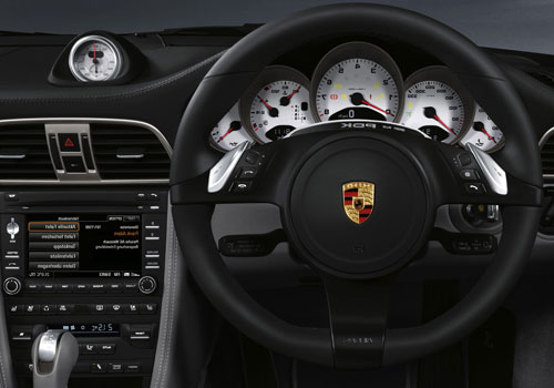 Porsche 911 Steering Wheel Interior Picture