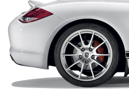 Porsche Boxster Wheel and Tyre Exterior Picture