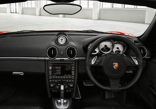 Porsche Boxster Dashboard Interior Picture