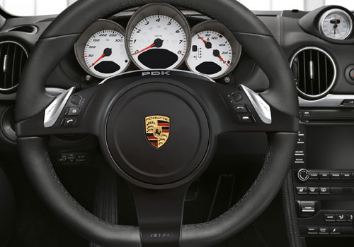 Porsche Boxster Steering Wheel Interior Picture