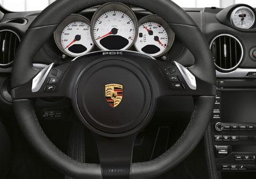 Porsche Boxster Steering Wheel Interior Picture