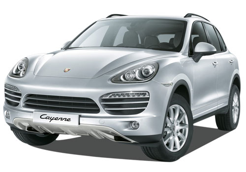 Porsche Cayenne Front View Side Picture