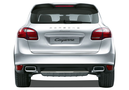 Porsche Cayenne Rear View Exterior Picture