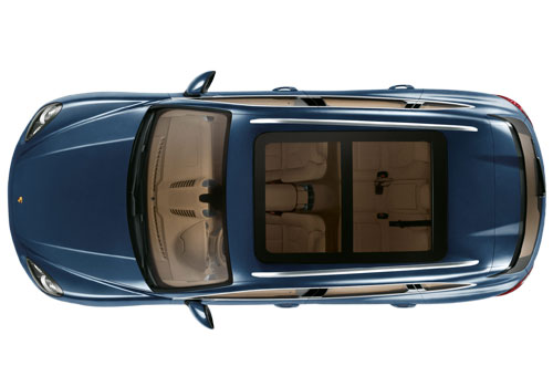 Porsche Cayenne Top View Exterior Picture