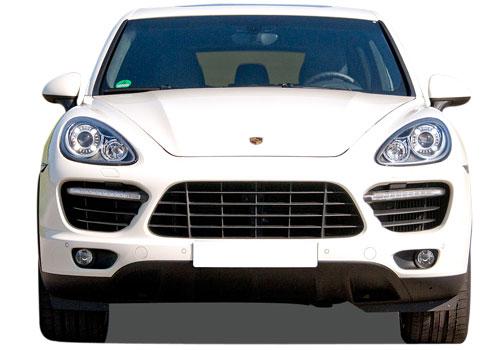 Porsche Cayenne Front View Picture