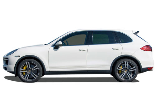 Porsche Cayenne Front Angle Side View Exterior Picture