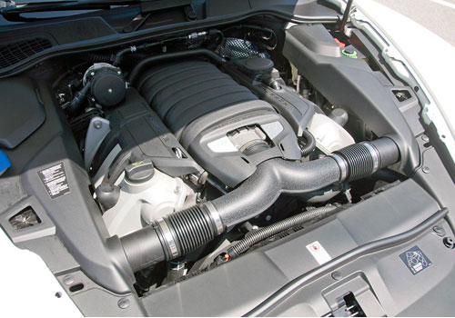 Porsche Cayenne Engine Picture