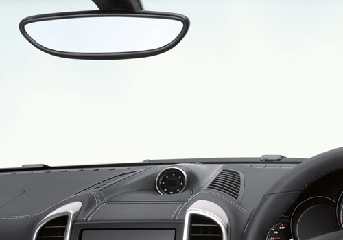 Porsche Cayenne Courtsey Lamps Interior Picture