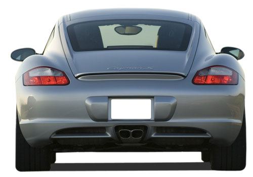 Porsche Cayman Rear View Exterior Picture