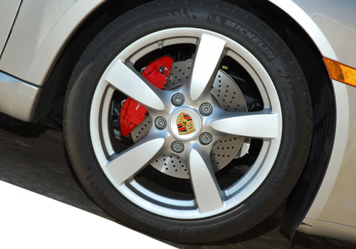 Porsche Cayman Wheel and Tyre Exterior Picture