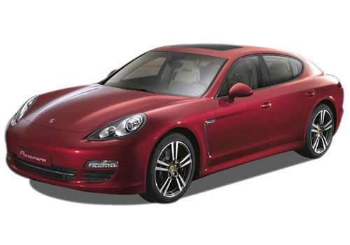 Porsche Panamera Front Angle View Exterior Picture