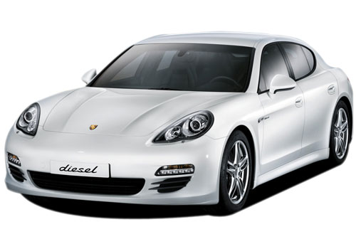 Porsche Panamera Front High Angle View Exterior Picture