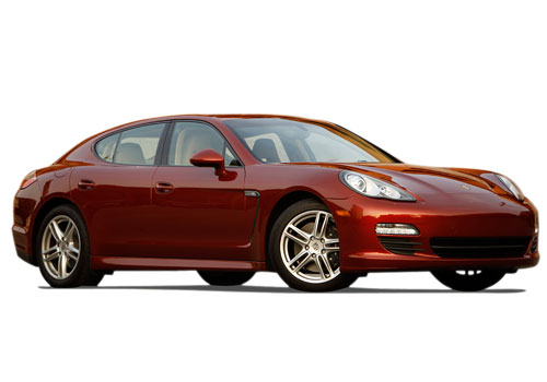 Porsche Panamera Front Low Angle View Exterior Picture