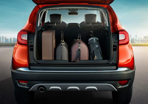 Renault CAPTUR Boot Open Interior Picture | CarKhabri.com