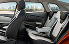Renault CAPTUR Rear Seats Picture