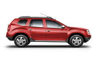 Renault Duster in Riery Red Color