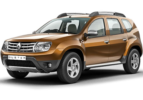 Renault Duster Front View Side Picture