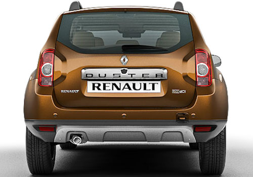 Renault Duster Rear View Exterior Picture