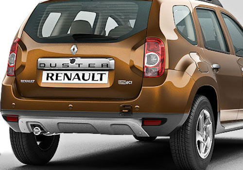 Renault Duster Exhaust Pipe Exterior Picture