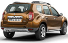 Renault Duster Rear Angle View Picture