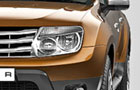 Renault Duster Headlight Pictures