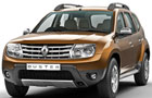 Renault Duster Front High Angle View Picture