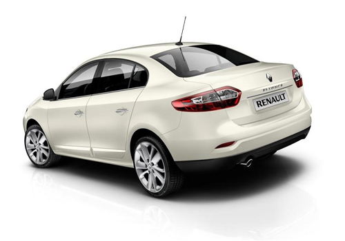 Renault Fluence Rear View Picture