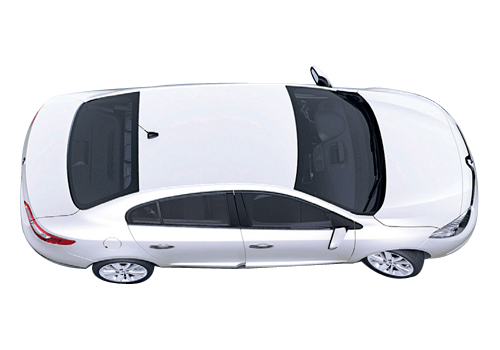 Renault Fluence Top View Exterior Picture