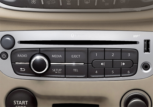 Renault Fluence Rear AC Control Interior Picture