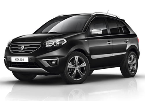 Renault Koleos Front Angle View Exterior Picture