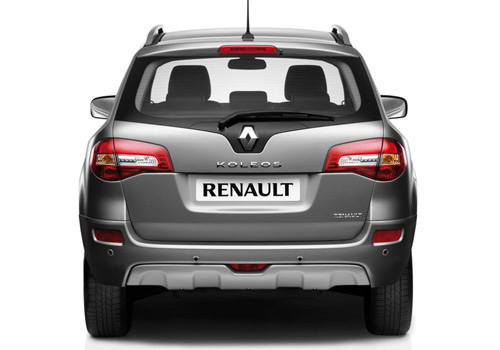 Renault Koleos Rear View Exterior Picture