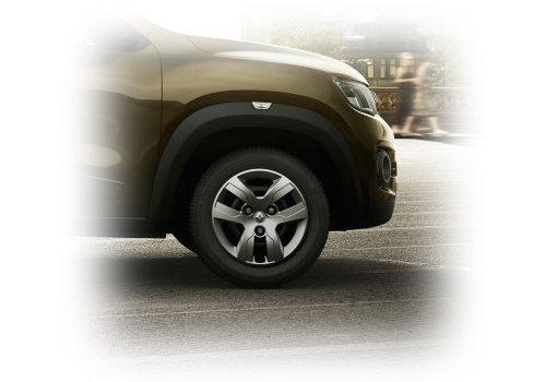 Renault Kwid Wheel and Tyre Exterior Picture