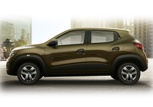 Renault Kwid Front Angle Side View Exterior Picture